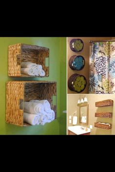 Brilliant!!! Great for organizing bathroom and leaves the bathroom closet and or cupboard open for other things like toilet paper and other things.