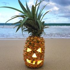 Our kind of Jack-O'-Lantern #PineappleLantern