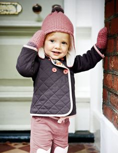mini boden quilted jacket
