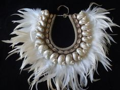 Fashionable Sea Shell Necklace Adornment Papua New Guinea Fashion Style #SavageHarvest