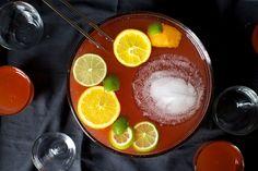 Rum & Campari punch