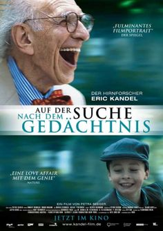 """Auf der Suche nach dem Gedachtnis (German) 11x17 Movie Poster (2009). CAST: Eric Kandel, Aaron Buck, Josh Dudman, Heinz Fischer; DIRECTED BY: Petra Seeger; PRODUCER: Petra Seeger; Features: 11"""" x 17"""" Packaged with care - ships in sturdy reinforced packing material Made in the USA SHIPS IN 1-3 DAYS"""