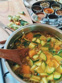 Ayurvedic Sunshine Detox Soup | Free People Blog #freepeople