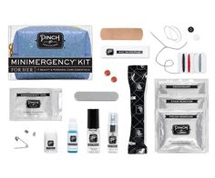 How sweet it is to popa Confection Minimergency® Kit in your purse.With17 beauty, personal care, and style essentials,our signature petite pouch contains ev