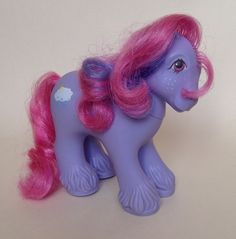 ✩ My Little Pony ✩ G1 HTF Euro Mountain Boy Thundercloud w/orig Factory Curls! #Hasbro