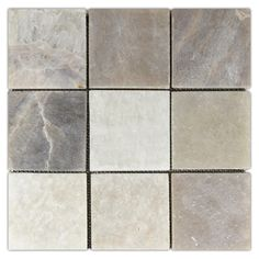 Mixed Quartz x Stone Mosaic Tile - Pebble Tile Shop Stone Mosaic Tile, Ceramic Mosaic Tile, Ceramic Subway Tile, Mosaic Glass, Look Body, Wood Look Tile, Shower Floor, Shower Walls, Mosaic Projects