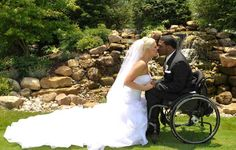 Couple utterly in love. >>> See it. Believe it. Do it. Watch thousands of SCI videos at SPINALpedia.com