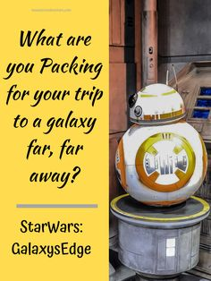 what are you packing for your trip to a galaxy far, far away?