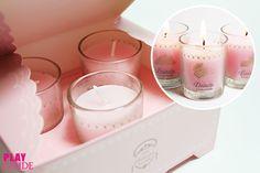 Etude House Princess Etoinette Lovely Perfume Candle Trio