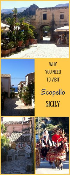 The picture perfect village of Scopello Sicily. Scopello is an ancient village located between Palermo and Trapani, in Sicily. It is tiny but has a lovely central square, great food and is close to stunning beaches and nature, borgering teh protected area of the 'Zingaro reserve'. It is a perfect place for a family holiday or a romantic weekend or even for a wedding destination as we recall in this post