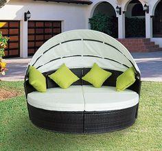 Garden Furniture Bed modern rattan sun day bed outdoor garden furniture patio lounger