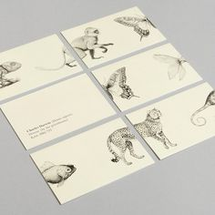 12 Gorgeous Business Cards For Famous Historical Figures - Charles Darwin
