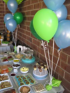 Good Party Themes: 1st Birthday Monkey Theme Food & Drinks