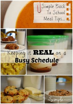 simple back to school meal tips :: keeping it real on a busy schedule by theSIMPLEmoms, via Flickr