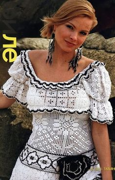 Outstanding Crochet: Filet crochet. (Not a pattern)