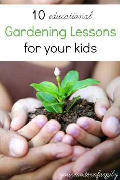 GREAT ideas to get your kids involved in gardening!   Not your everyday ideas.