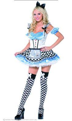 Sweet Alice Womenu0027s Sexy Costume Adult Alice In Wonderland Costume - Halloween Costumes | fancy  sc 1 st  Pinterest & 40 best Halloween 2013! images on Pinterest | Halloween 2013 Woman ...