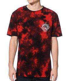 Empyre Shark Bait Tie Dye Pocket T-Shirt I love this shirt High Fashion Men, Tomboy Fashion, Dope Outfits, Fashion Outfits, T Shirt Logo Design, Hippie T Shirts, Bleach Tie Dye, Tie Dye Designs, Streetwear Brands