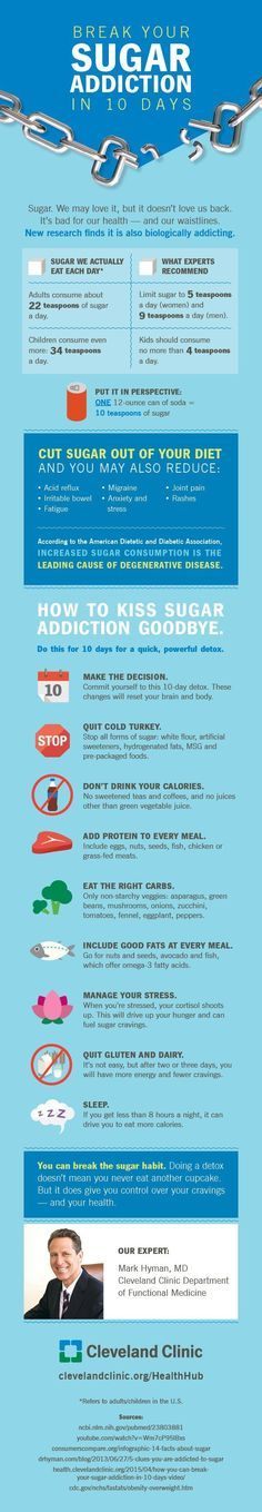 How to stop eating so much sugar.