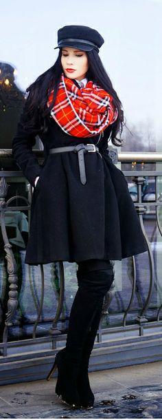 My looks: Red Tartan / MarybellWorld