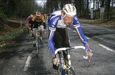 1991: Edwig Van Hooydonck voert de forcing op de Bosberg, hij won dat jaar de Ronde van Vlaanderen voor de tweede keer.
