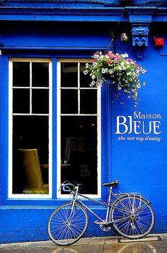 Maison Bleue, Edinburgh, Scotland x
