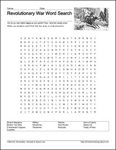 Playful image intended for american revolution printable worksheets