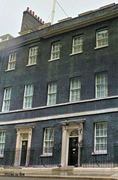 10 Downing Street, official residence of the Prime Minister of the United Kingdom. London