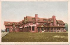 The Bisonte Hotel in Hutchinson home of a Harvey House Restaurant and Harvey Girls opened in 1906 and closed in 1946.