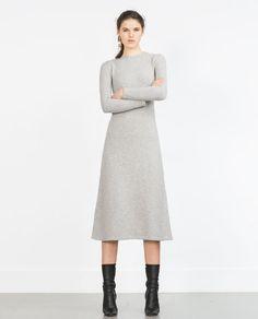 Image 1 of LONG MINIMAL DRESS from Zara