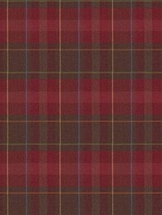 Ralph Lauren Wool Fabric-  Highgate Plaid - Burgundy $275.75 per yard.  Love this fabric!