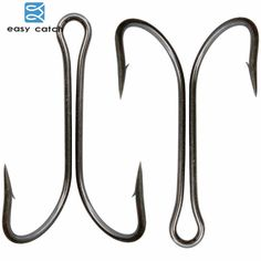 Trout /& Walleye Lure Hook Mustad 35647 Black Nickel Round Bend Treble Hook Bass