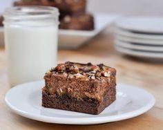 Beki Cook's Cake Blog: Turtle Cheesecake Brownie Bars {Recipe}