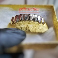 Solid Custom Grillz ( 925 silver - - ) start from just Diamond Cut Grillz, Diamond Cuts, Real Gold Grillz, Open Face Grillz, Bottom Grillz, Face Design, Grills, Hiphop, 925 Silver