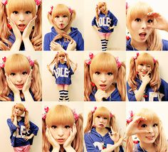 Another collection of great Pamyu poses... She's interested in changing perceptions of women in media... Who would have thought she'd be so thoughtful?