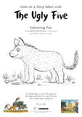 The ugly five hyena colouring page 1657634