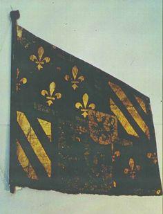 1474-76, Burgundy. Flag.