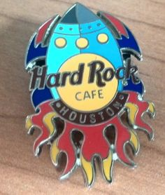 Huston-Rocket-Hard-Rock-Cafe-PIN-Spilla-Badge