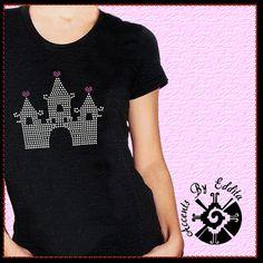 Princess Cinderella Style Castle DIY Rhinestone by AccentsByEddita, $12.99