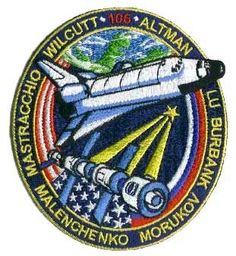 STS106 Mission Patch STS-106  ISS Assembly Flight 2A.2b  09/08/2000  09/20/2000  Wilcutt, Altman, Lu, Mastracchio, Burbank, Malenchenko, MorukovFourth Space Shuttle Flight To International Space Station