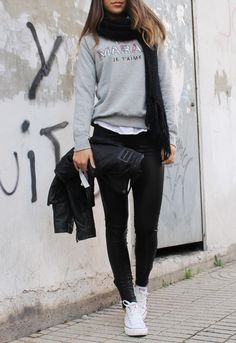 15 Combination Ideas for Trendy Looks with Sneakers - Pretty Designs