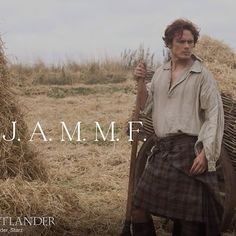 James Alexander Malcom MacKenzie Fraser. In love with a fictional character for 15 years!