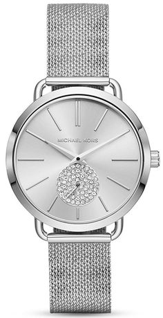 49b7c88a0f9 Michael Kors Portia Quartz Diamond Accent MK3843 Women s Watch