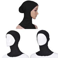 New Arrival Muslim Elastic Full Cover Inner Hijab Head Neck Cap Underscarf Islamic Hat