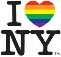FREE I Love NY LGBT Stickers on http://www.icravefreebies.com/