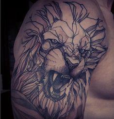 Tatuaje-león-rugiendo.png (576×602)