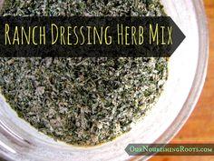 Ranch Dressing Herb Mix