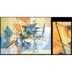 NOVICA Abstract Acrylic on Canvas Painting