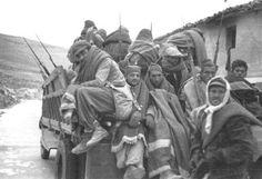Soldados republicanos durante la batalla de Teruel. Congelados. El frío fue estremecedor.
