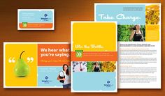 Weight Loss Clinic Brochure Postcard Flyer & Ads Poster Datasheet and Stationery Designs Help Losing Weight, Reduce Weight, How To Lose Weight Fast, Best Fat Burning Workout, Medical Design, Medical Weight Loss, Layout, Good Fats, Lose Belly Fat